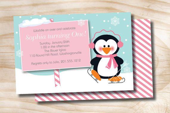 Penguin party winter wonderland birthday by paperheartcompany penguin party winter wonderland birthday by paperheartcompany filmwisefo