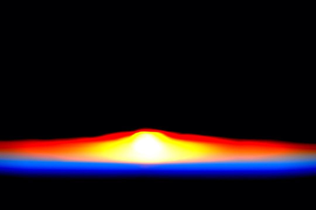 #GoodMorning #saturday #sunrise! #YearInSpace by stationcdrkelly