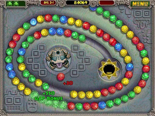 Screenshot of Zuma Deluxe | Games I Like | Zuma deluxe, Free