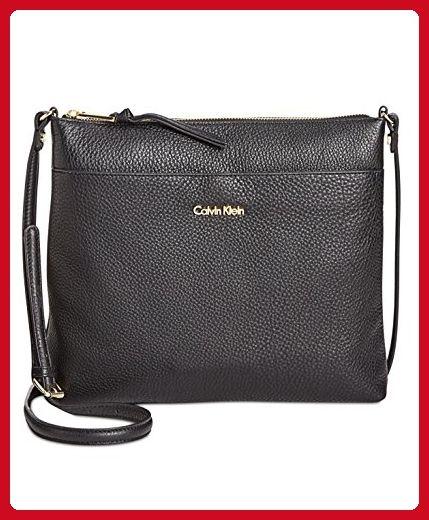 955af4628db3 Calvin Klein Pebble Top Zip N s Large Crossbody