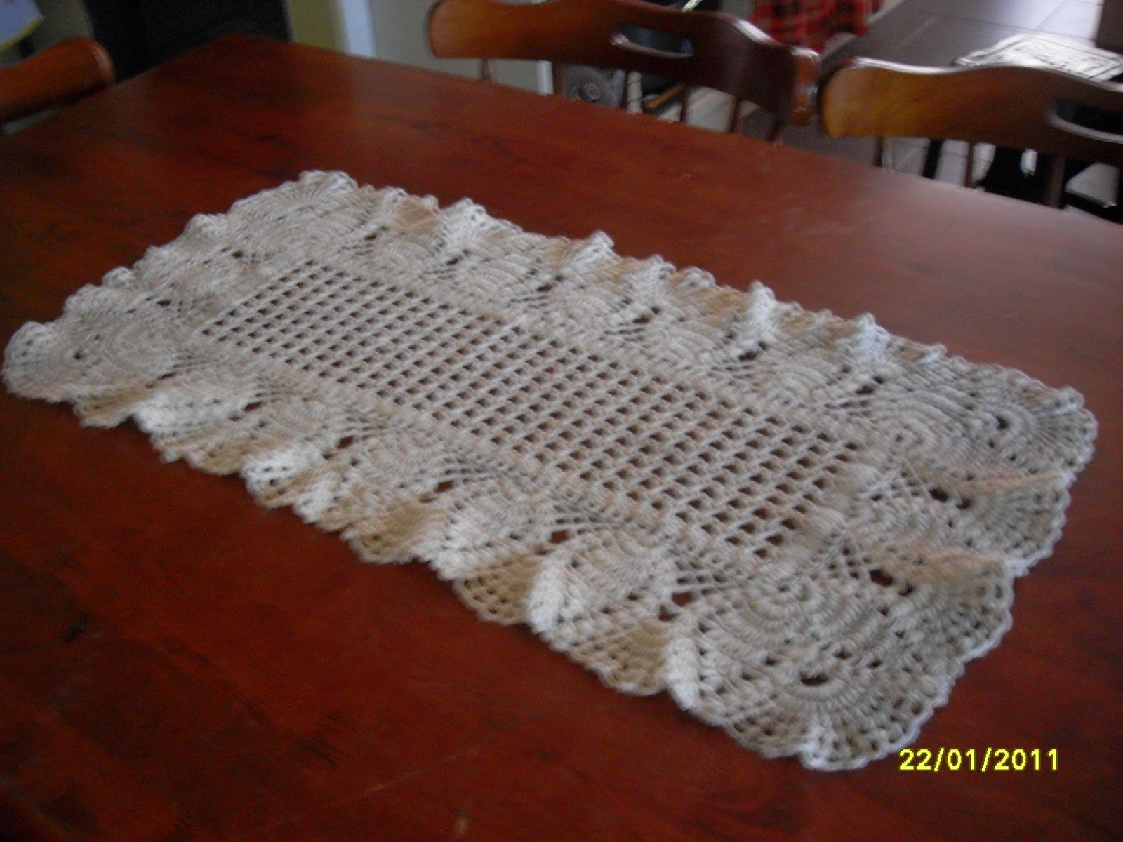 Crochet Table Runner Patterns Easy Interesting Inspiration Design