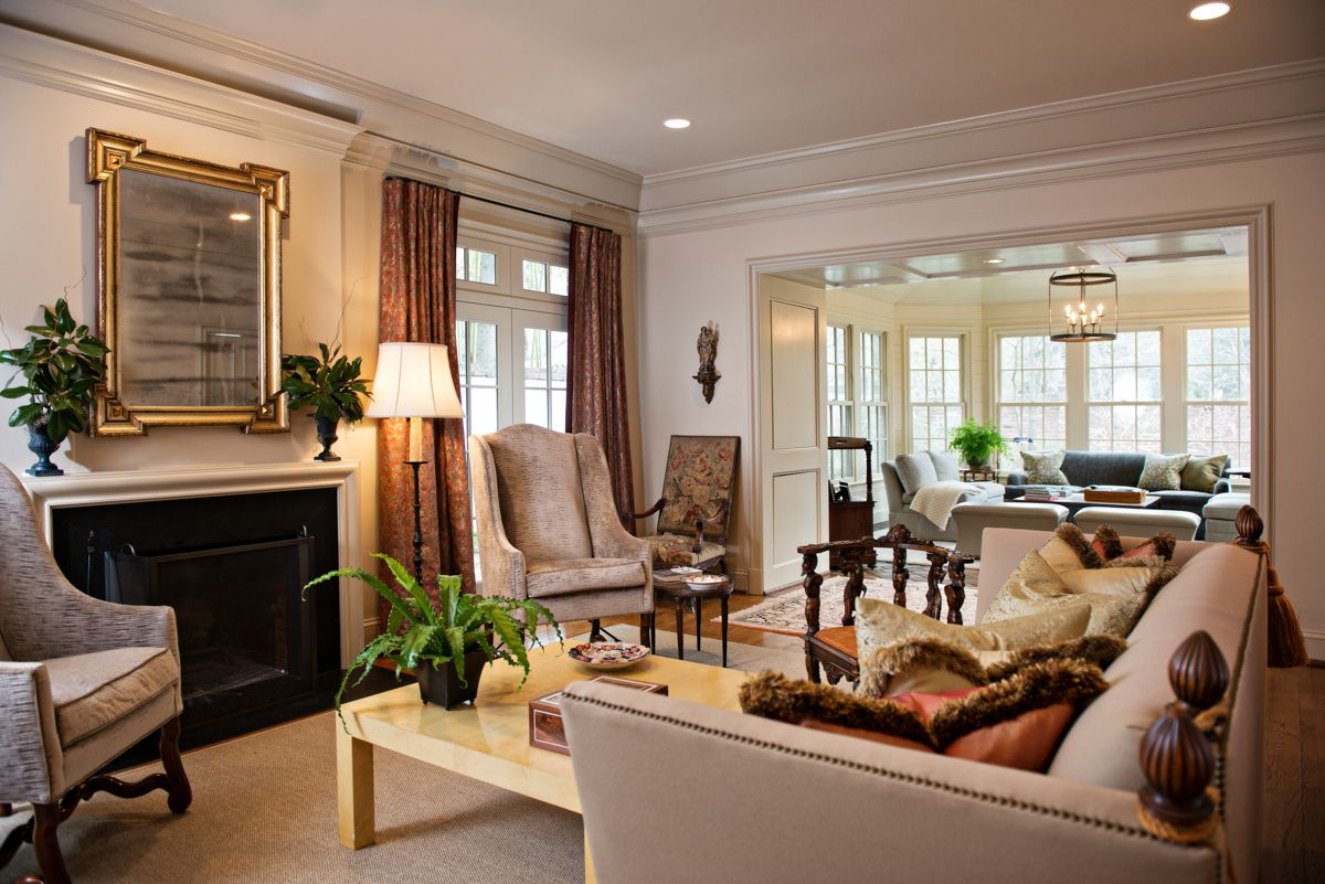 Living Room Renovation Before And After a house transformed: renovation before and after | styleblueprint
