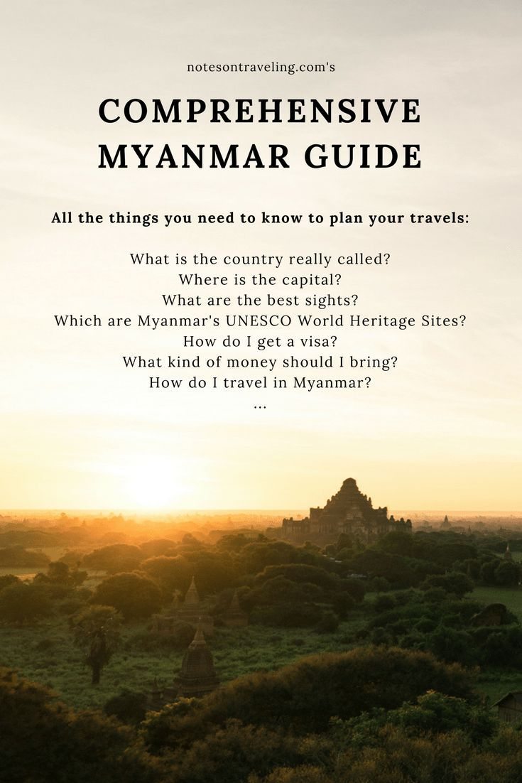 Traveling Solo In Myanmar – 7 Things I Learned About The Golden Country #middleeastdestinations