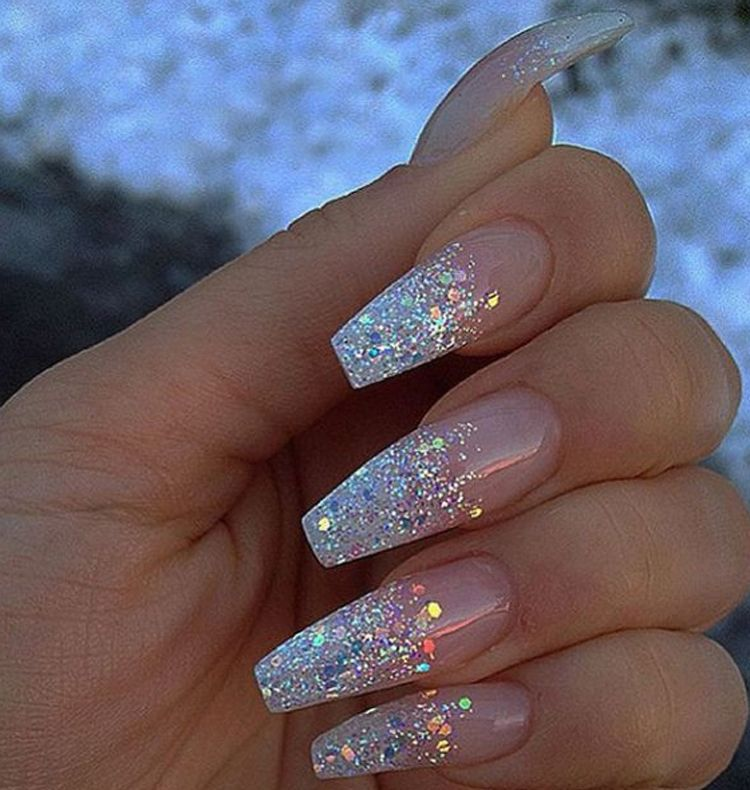 The best silver nail designs and nail polish ideas for fashionable women  and girls. See our best nail collection with different colors. - New Silver Nail Designs And Nail Polish Trends Silver Nail Designs
