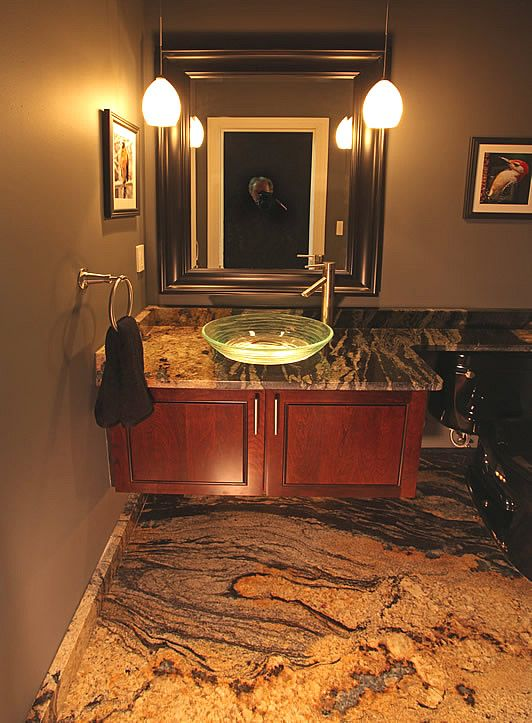Home in 2019 | Interesting Bathrooms | Granite bathroom, Diy