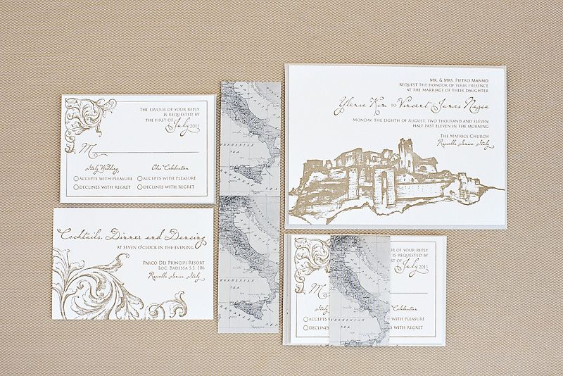 destination wedding invitations italy destination wedding