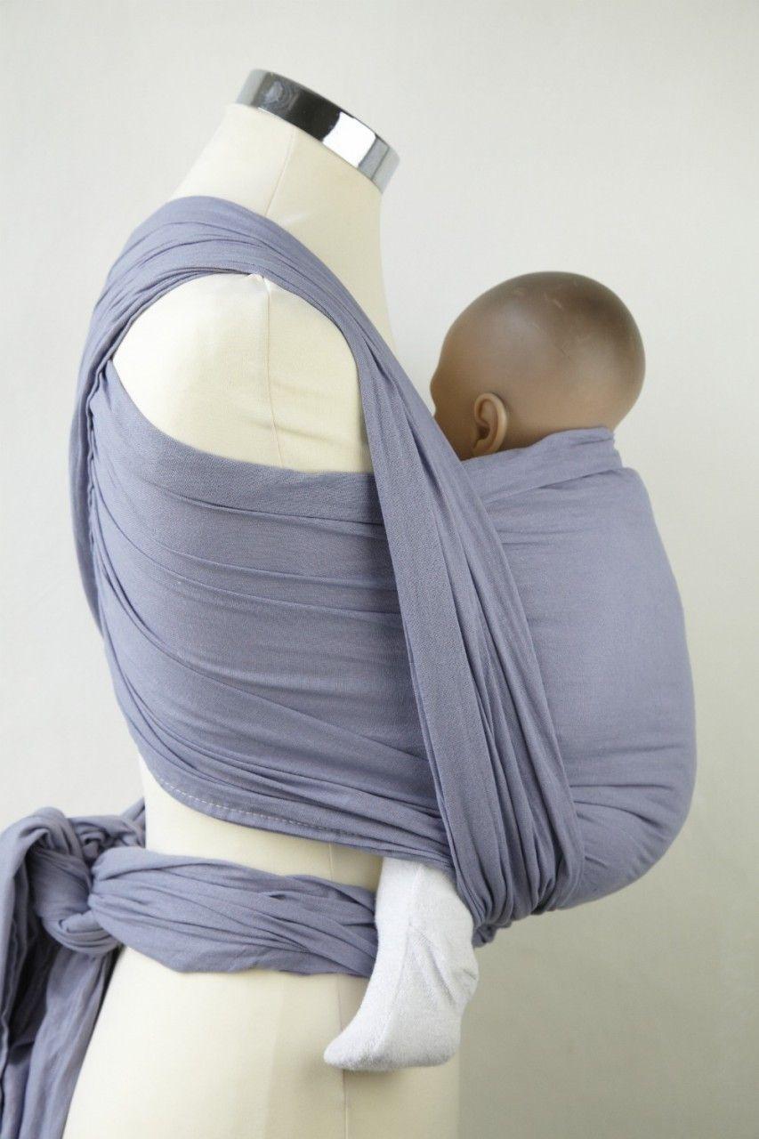 Summer Lavender Gauze Wrap Calin Bleu Wraparound Baby Slings