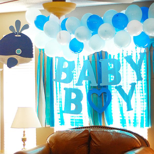 Whale Inspired Theme For Baby Showers. Check Out More Photos On My Blog :