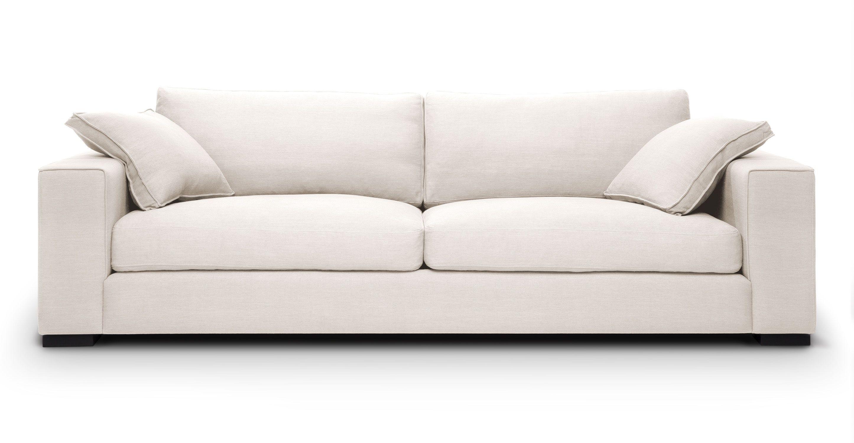 Sitka Quartz White Sofa Cube Quartz White