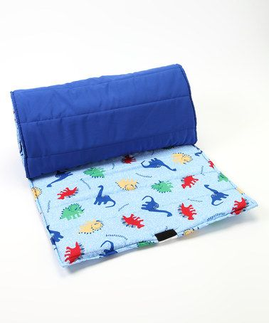 Take A Look At This Blue Dinosaur Nap Mat By Kid Napper On