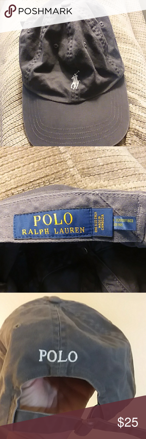 6ae84cdb00 Polo Ralph Lauren hat Great hat perfect condition worn once man or woman  hat once size does adjust Polo by Ralph Lauren Accessories Hats