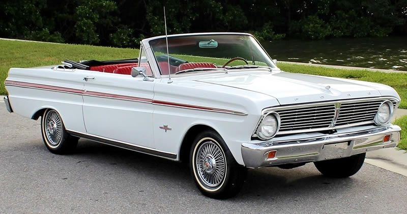 1965 Ford Falcon Futura Convertible – 289 V8 – Bucket seats