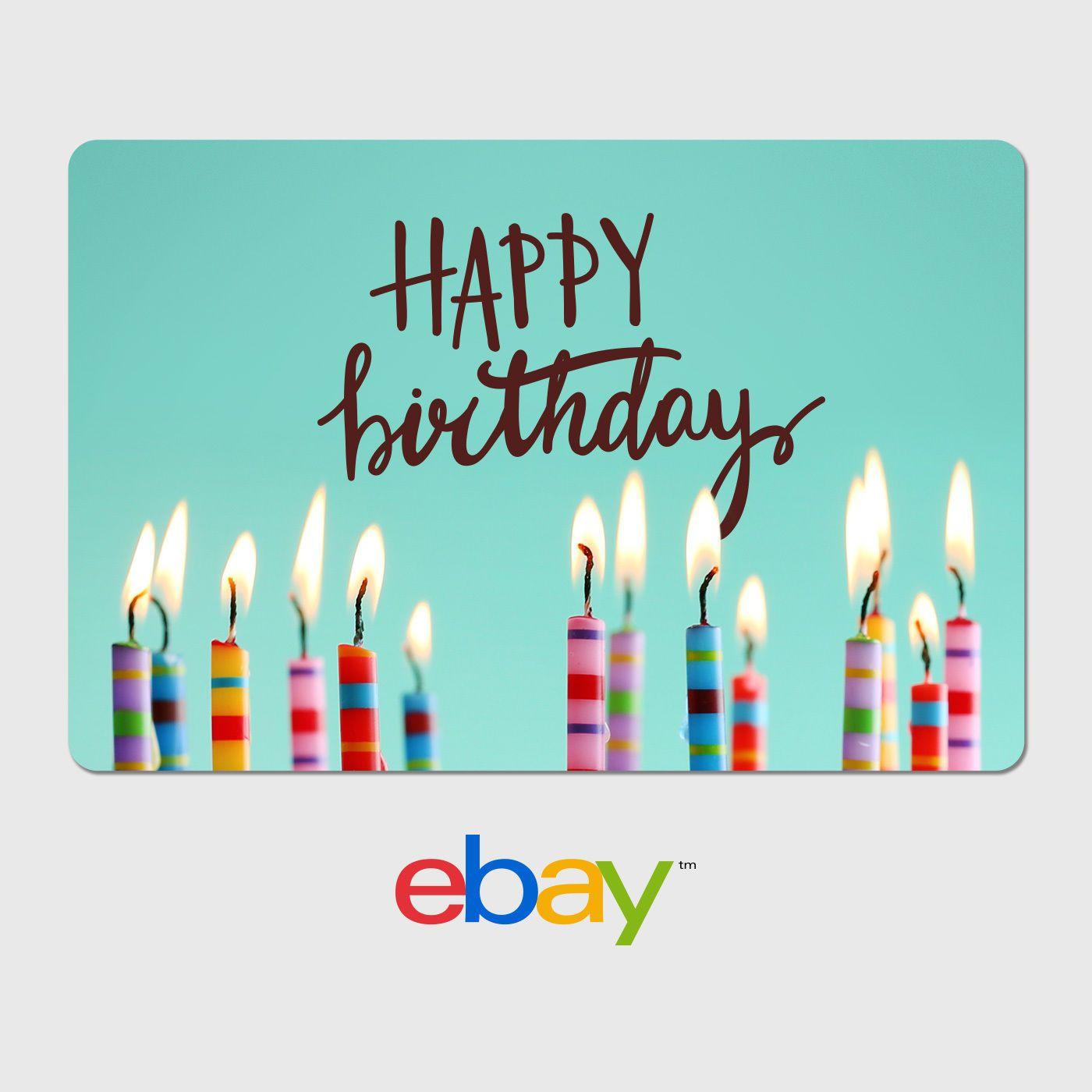 Gift Cards Ebay Digital Card