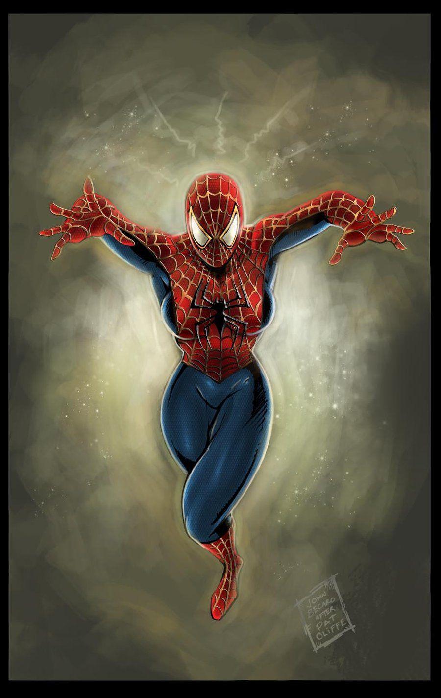 #Spider #Girl #Fan #Art. (Commission: Spider Girl #2) By: John Becaro. (THE * 5 * STÅR * ÅWARD * OF: * AW YEAH, IT'S MAJOR ÅWESOMENESS!!!™)[THANK Ü 4 PINNING!!!<·><]<©>ÅÅÅ+(OB4E)