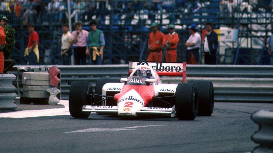 1985 - No.2 McLaren-TAG/Porsche MP4/2B - Alain Prost