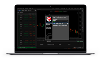 Forex trading application software