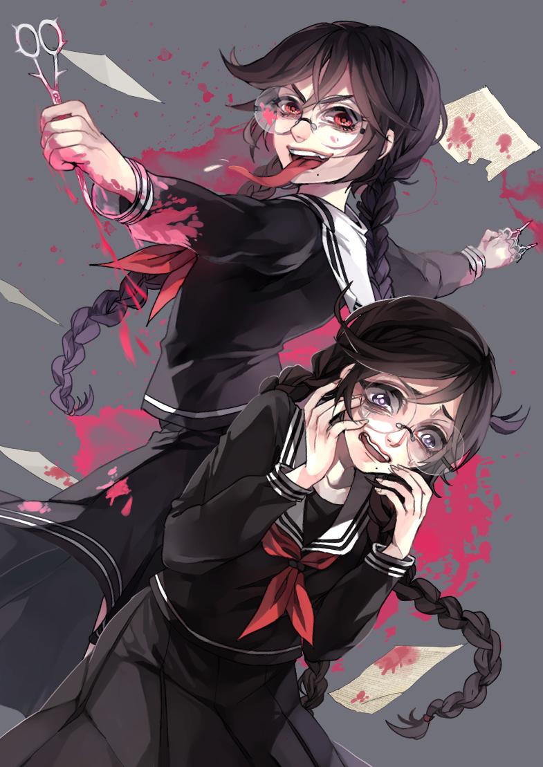 Las dos personalidades de Toko Fukawa de