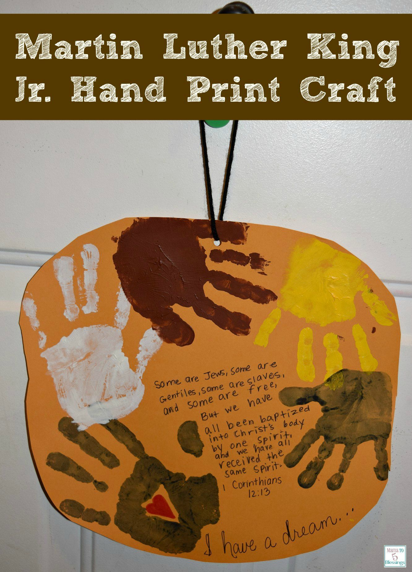 Learning Remembering Martin Luther King Jr Crafts To Do
