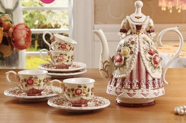 Jual New Enamel Tea Set ,Tea Set dengan harga Rp 2.100.000