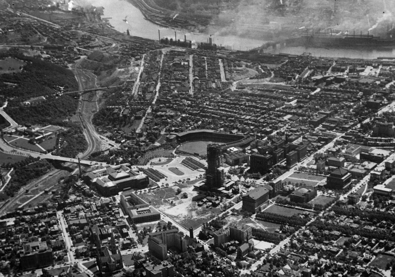 Pgdigs Forbes Field Photo Pittsburgh Pa
