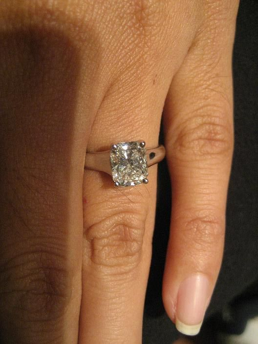 The Forum Engagement Ring FolderEye Candy Tiffany Diamond and Ring