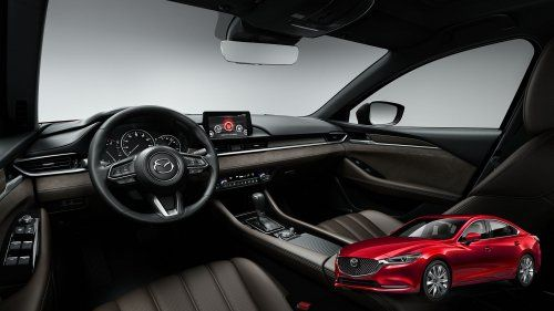 2018 Mazda6 Gains Much Needed Turbo New Premium Flavored Interior And More  Kit