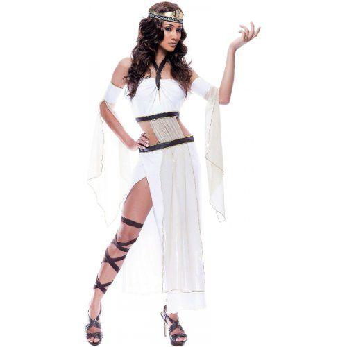 Paper Magic Womens French Kiss Grecian Goddess Costume, White/Brown, Small Paper Magic http://www.amazon.com/dp/B003IC9KSU/ref=cm_sw_r_pi_dp_xYKQtb0W5P0QPMV4