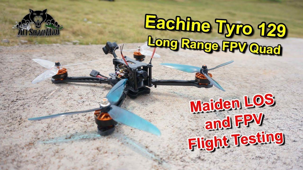 Eachine Tyro 129 Long Range Fpv Drone Fpv Flight Testing Fpv Drone Radio Controlled Aircraft Fpv