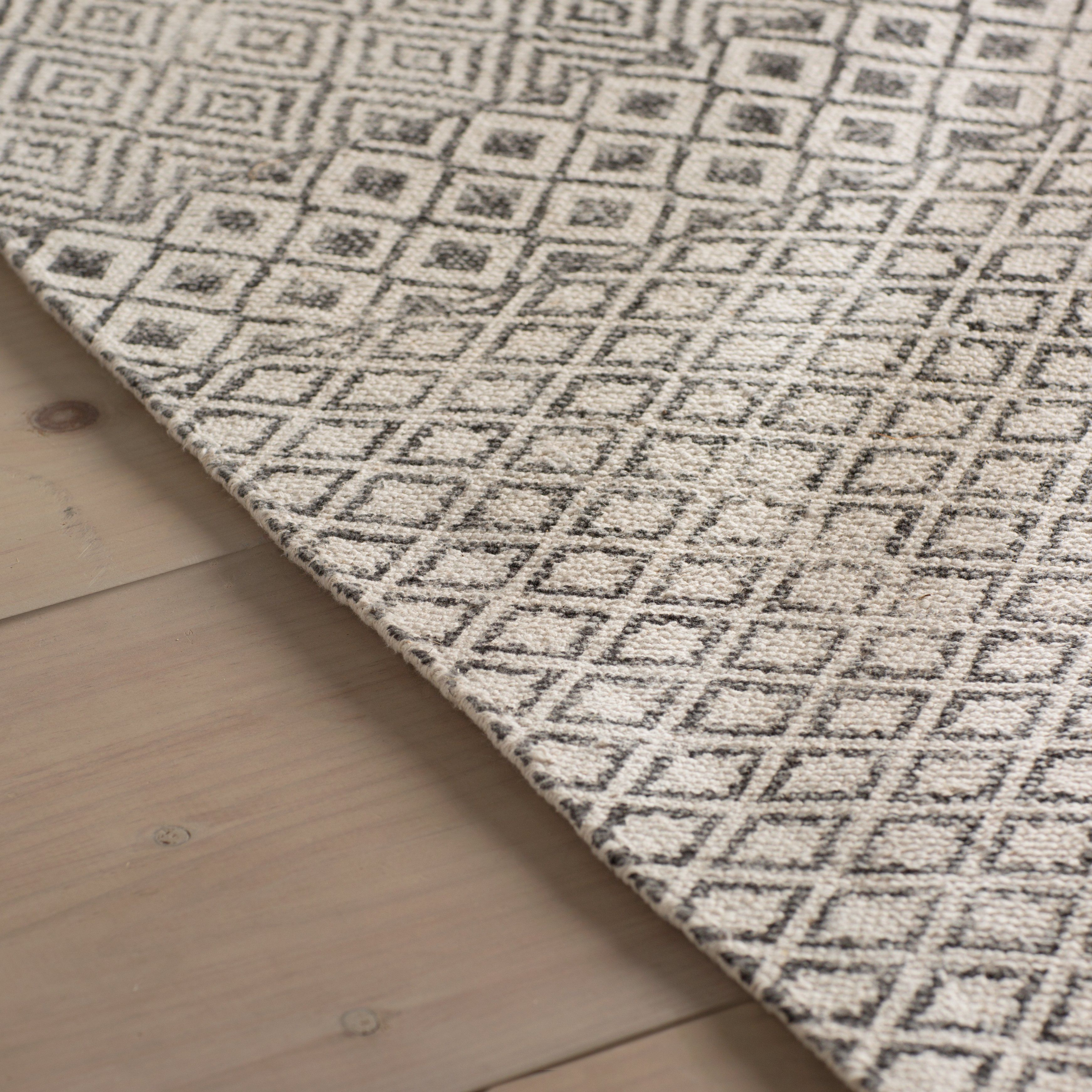 Oldtown Hand Woven Gray Area Rug Apartment 225 Rugs