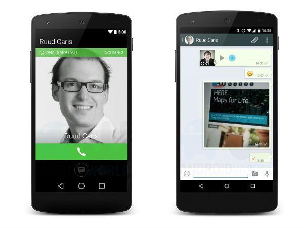 WhatsApp Voice Calling Support Screenshots Leak Again It