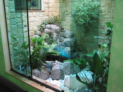 Jardim de inverno com vaso pesquisa google jardim de for Jardines artificiales