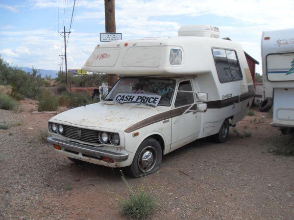 78 Toyota Chinook Motor Home 1800 Alamogordo Needs Serious Tlc Toyota Chinook Car Camping Recreational Vehicles