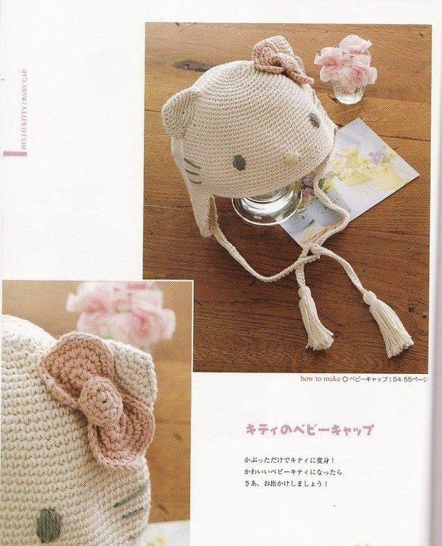 Gorros tejidos con orejitas (9) | gorros a crochet y dos agujas ...