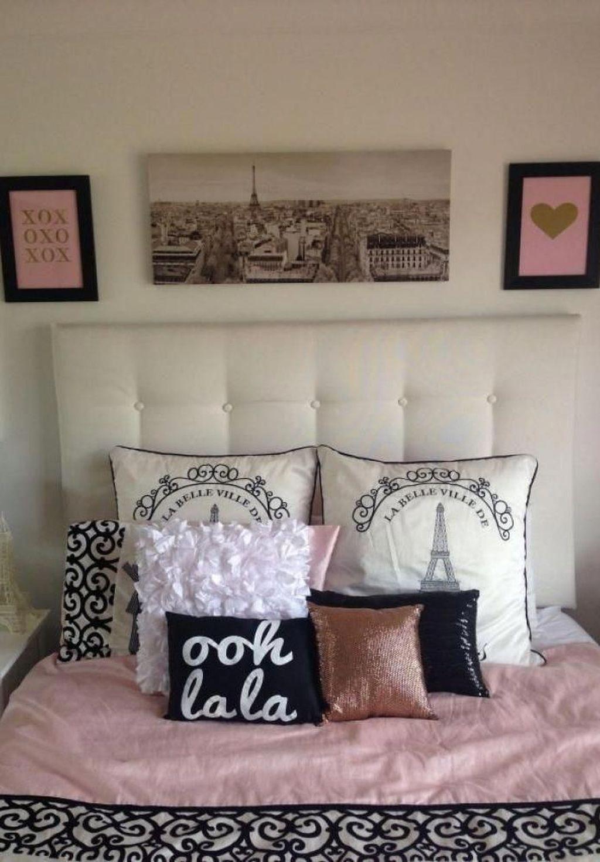 8 Lovely Paris Theme Bedroom Design Ideas For Women To Copy