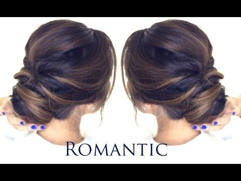 5 Minute Romantic Bun Hairstyle Easy Updo Hairstyles Easy Bun Hairstyles Easy Updo Hairstyles Bun Hairstyles