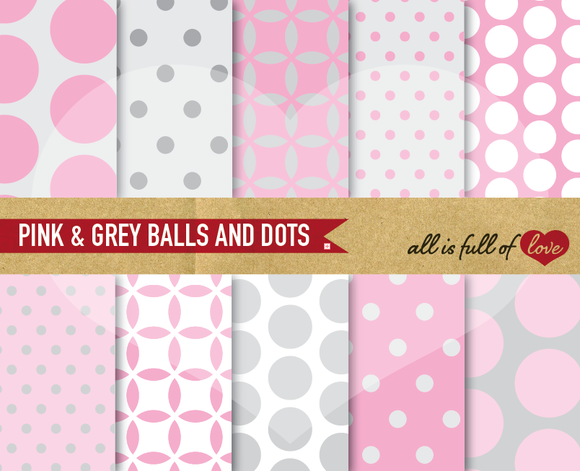 I just released Printable Scrapbooking Pink Patterns on Creative Market.