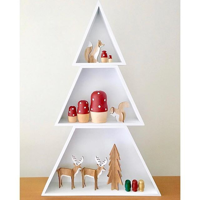 I am quite simply in love with this styling of the @kmartaus Christmas tree shelves and woodland animals by @deni_elizabeth and those festive babushkas by @_lovetildy_ are just divine. Thanks so much for letting me share! 👓#thekidzcurator #kmartaus #kmartstyling #kmartkids #kmartkidz #kmartkidsaus #kmartchristmas