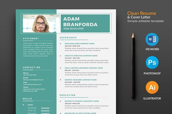 The Resume  Cv Creativework  Resume Templates
