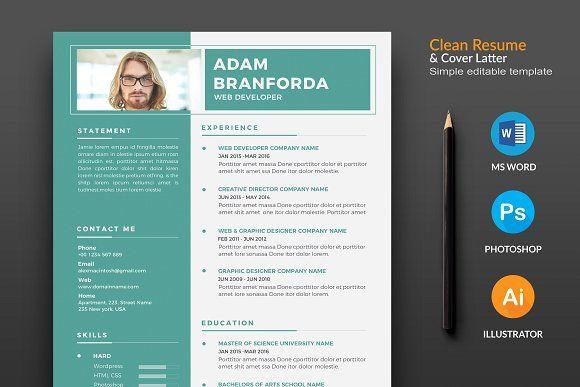 The Resume  Cv Creativework  Resume Templates