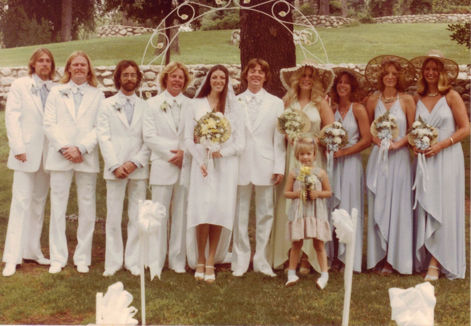 Real Retro Weddings: 1970s Real Vintage Weddings