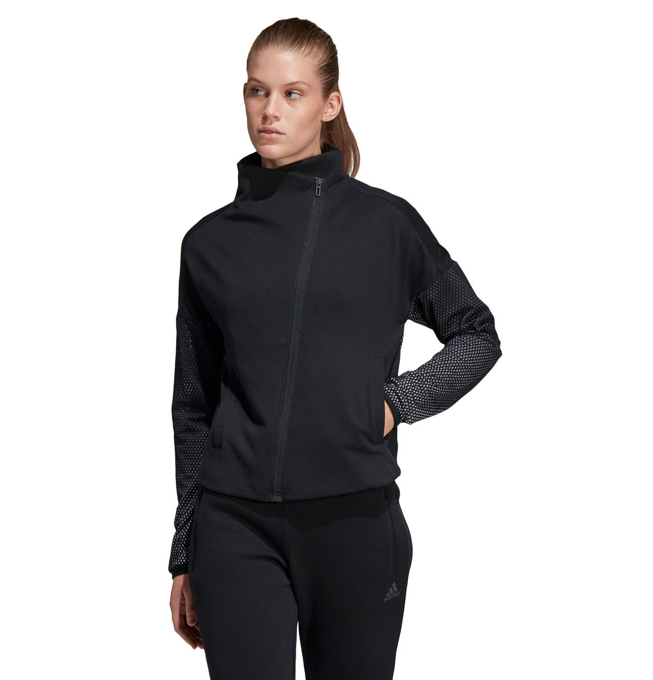 Damen Kapuzenjacke Heartracer