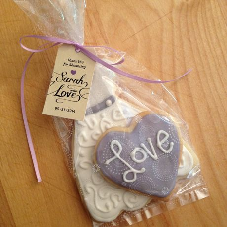 Sah Blog Bridal Shower Sugar Cookies Recipe Cookie Favours