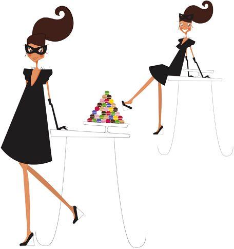 mad 39 moiselle c illustratrice agence marie bastille lllustrations mad 39 moiselle c pinterest. Black Bedroom Furniture Sets. Home Design Ideas