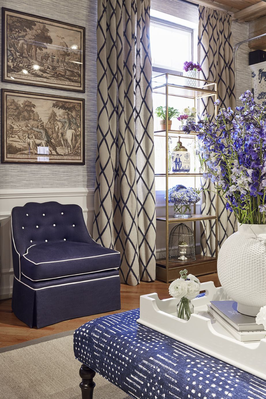 Thibaut Wallpaper, Fabrics & Furniture You saved to High