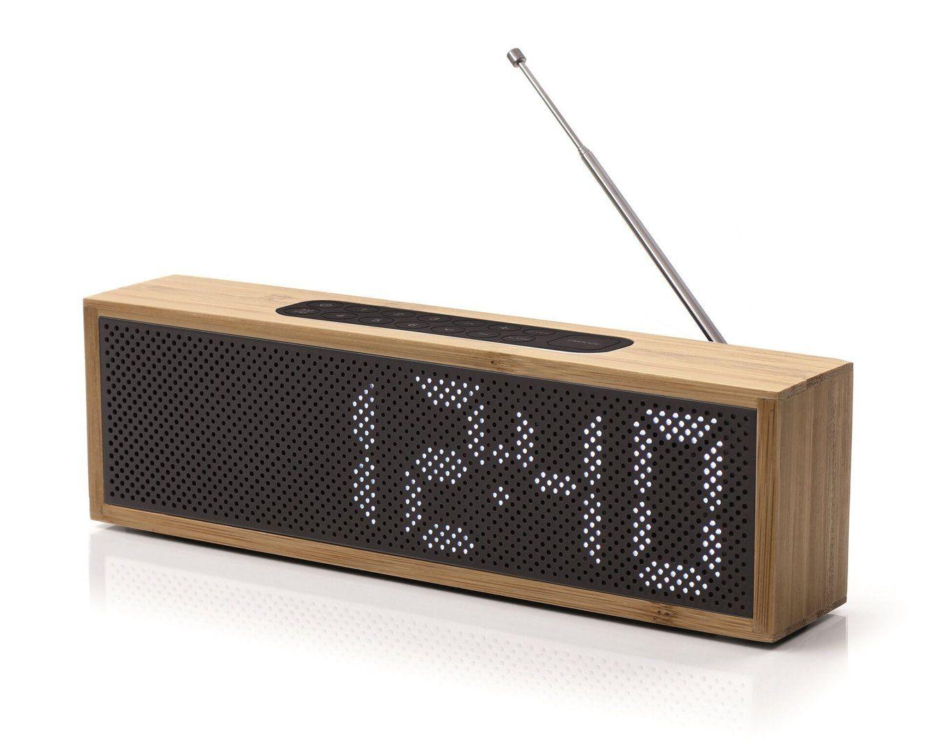 Lexon Radio Wecker Titanium Wecker Radiowecker Radios