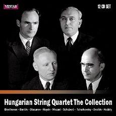 알라딘: [수입] 헝가리안 사중주단 컬렉션 [12CD] - 베토벤 & 바르톡 현악사중주 전집 수록