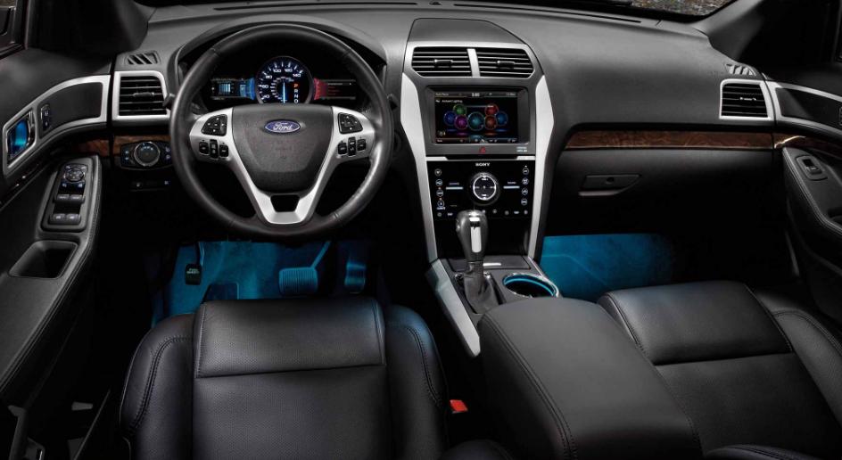 2018 Ford Explorer Interior Design Price Concept And Release