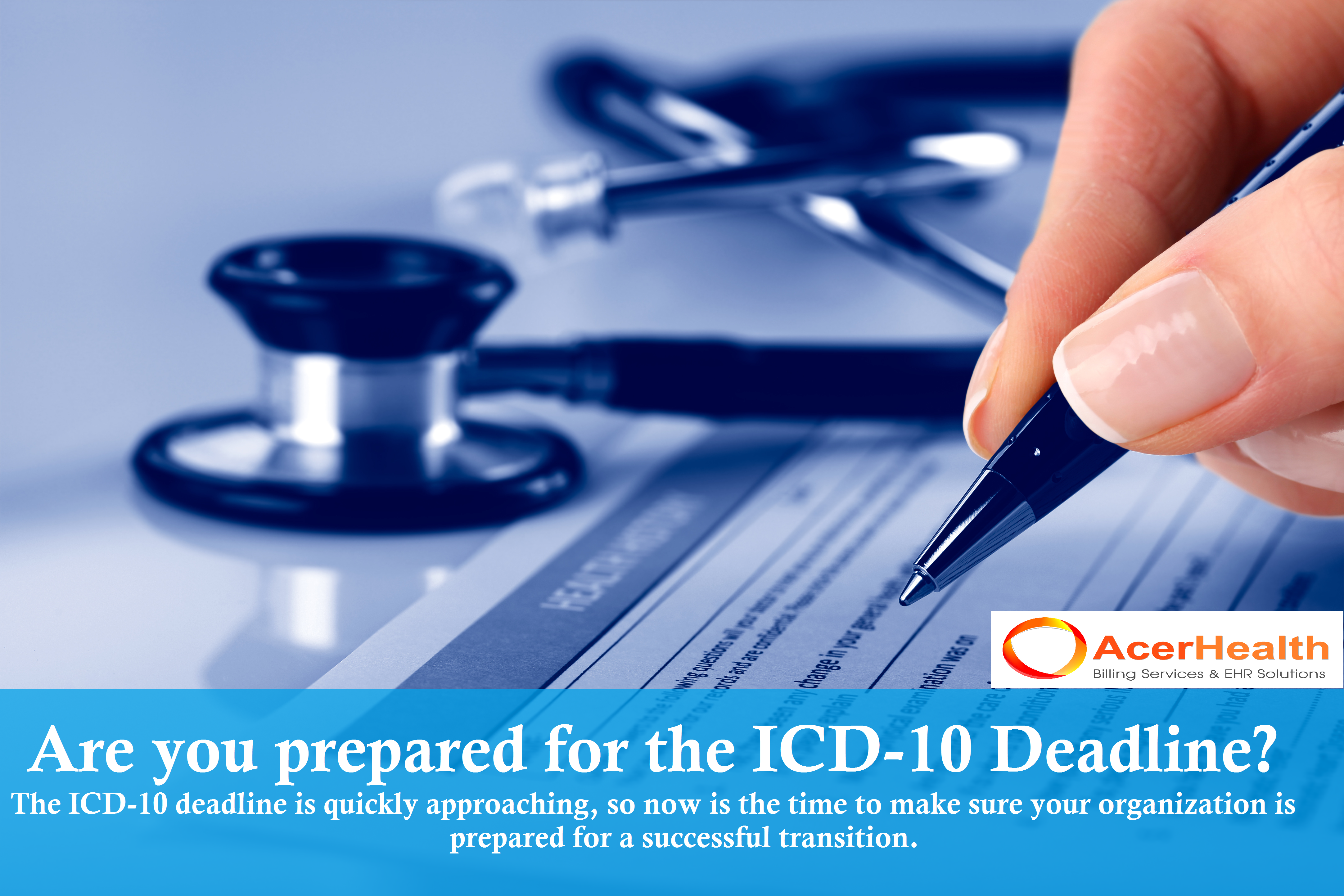 Prepare For Icd10 With Acerhealth Click Here Http Acerhealth