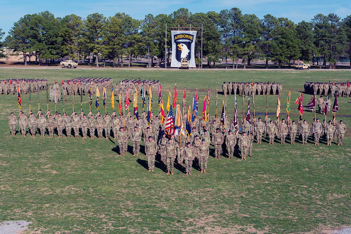 101st airborne division major general brian