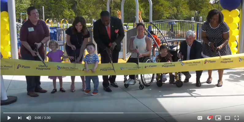 Whirlix Design Is Very Proud To Have Worked With The City Of Plano And Liberty Mutual Insurance To Bring This New All Playground Plano Liberty Mutual